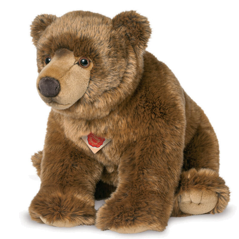 Wild   Grizzly Brown Bear cub soft toy plush by Teddy Hermann - 50cm - 91051
