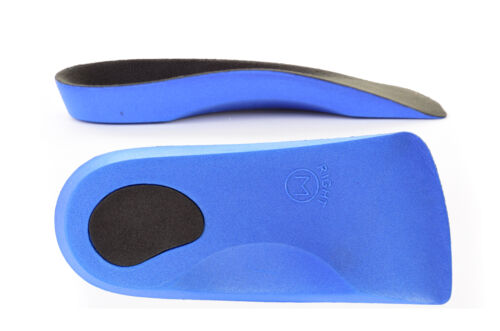Sole Control Classic light 3//4 length Orthotic Insoles Flat Feet Arch Supports