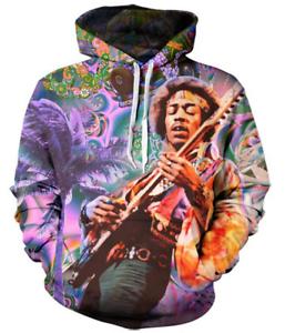 New Fashion Women//Men Jimi Music Rock 3D Print Casual Hoodies Sweatshirt 61