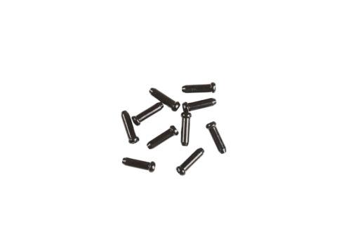 Juin Tech CT01 Bike Cable End Caps Tips 10pcs for Brake and Derailleur Black