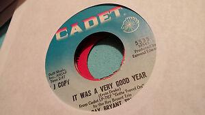 Ray-Bryant-Trio-45-It-Was-a-Very-Good-Year-Gotta-Travel-On-Cadet-Funk-Soul-Jazz