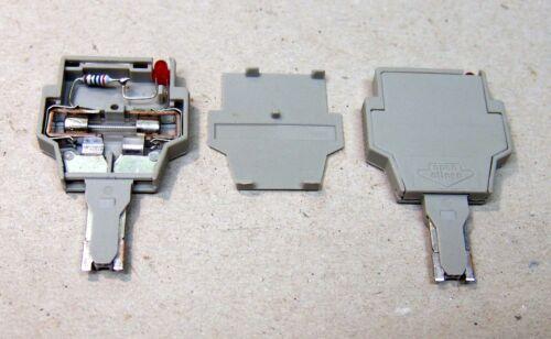 5x25 Wago Sicherungsstecker LED Feinsicherung 5x20 281