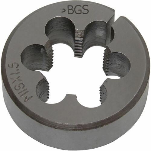 BGS Gewindeschneideisen M18x1,5x38 mm 1900 M18X1,5 S