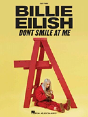 Billie Eilish Don/'t Smile at Me Sheet Music Easy Piano Songbook NEW 000323125