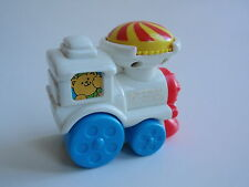 1996 Fisher Price McDonalds Meal Toy Locomotive Train Car Bear Conductor Baby