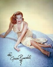 JANE RUSSELL SIGNED 10x8 PHOTOGRAPH -THE OUTLAW - UACC & AFTAL RD AUTOGRAPH