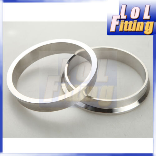 "4/"" Clamp CNC Stainless Steel V-Band Vband Flange Kit Turbo"