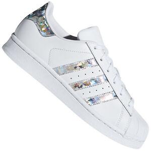 Details zu adidas Originals Superstar Damen Sneaker Schuhe Turnschuhe  Schimmer F33889 NEU