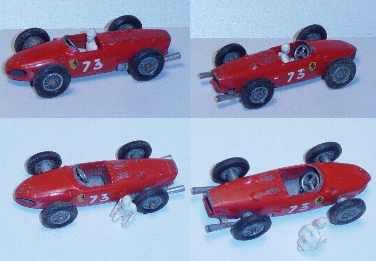 Matchbox 73 Ferrari F1, rojo, nr. 73, MIT fahrer, Matchbox serie