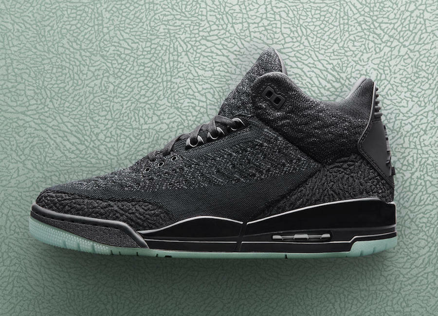 e4dbde8799 Air Jordan 3 III Retro Flyknit size 14. Black Anthracite Glow Soles.  AQ1005-. KDNK. Nike Air Max ...