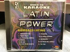 LATIN POWER KARAOKE VCD DVD VCLP-051 BOMBAZO LATINO VOL 8 SEALED