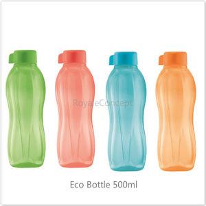 Ongebruikt Tupperware Eco Gemakkelijk drinkfles (Blauw en Mango/Rood en Groen QM-35