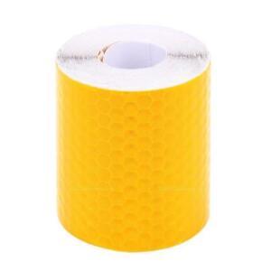Orange-Streifen-Reflektierende-Aufkleber-Reflektor-selbstklebend-fuer-Auto-5x300c