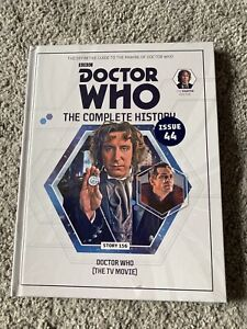 DOCTOR-WHO-COMPLETE-HISTORY-ISSUE-44-VOL-47-THE-TV-MOVIE-NEW-amp-SEALED