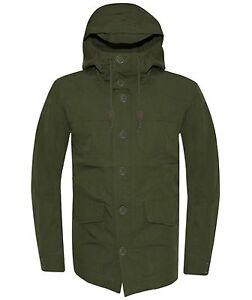 Levi-039-s-Mens-Green-Parka-Jacket