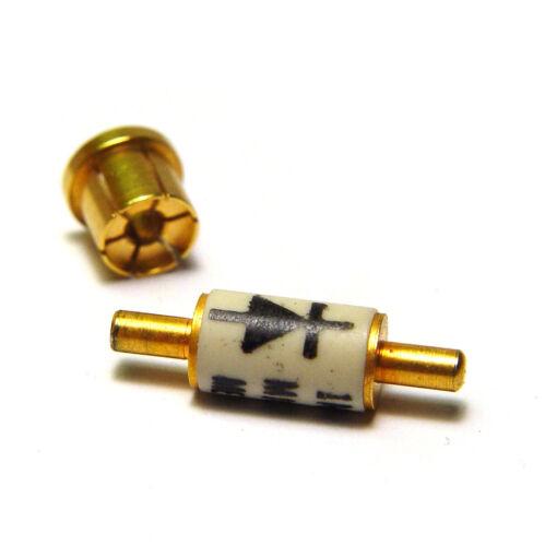 HF detector//mezclador diodo 1n415e//1n415 e 12 GHz 8... nos GHz punto de contacto