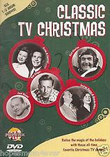 NEW- Classic TV Christmas (DVD, 2006) Jack Benny Red Skeleton Ozzie George Burns