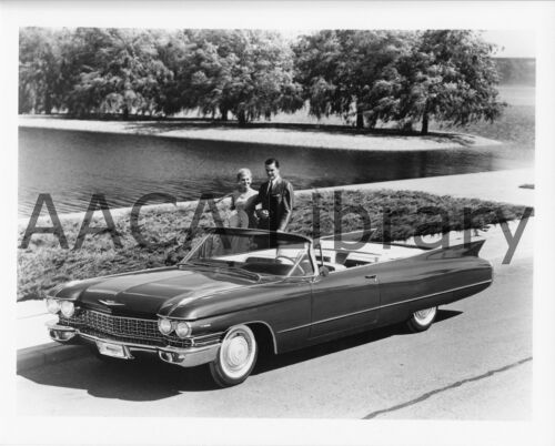 Ref. #30383 Factory Photo 1960 Cadillac Series 62 Convertible Coupe