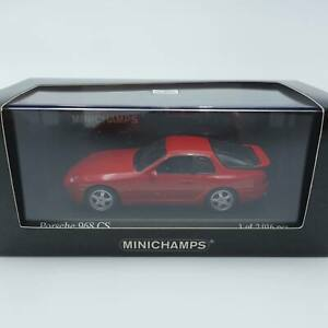 Minichamps-PMA-1-43-Porsche-968-CS-1993-Red-1of-2016pcs-with-Box