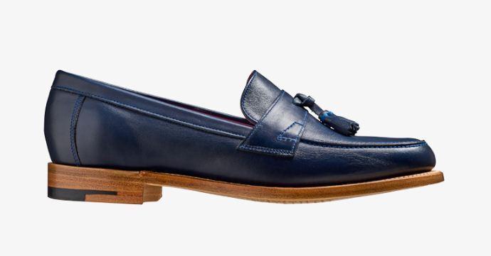 Handmade Women's Genuine Leather Formal Tassels Slip On Formal Shoes