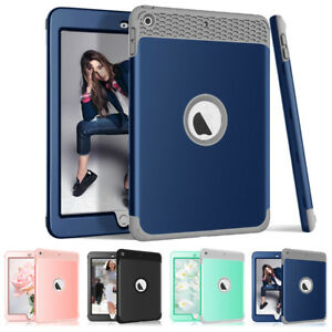 """Heavy Duty Kids Shockproof Case Cover For iPad 9.7"""" 5th 6th Gen 2018 A1893 A1954"""