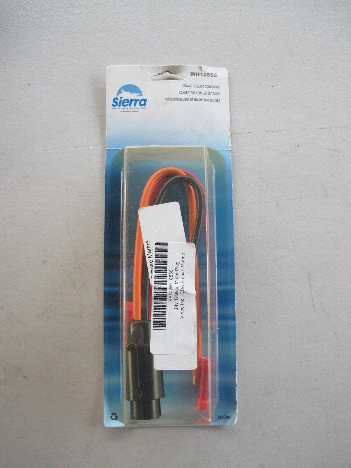 Sierra Female 3-wire Trolling Motor Side Plug Wh10550-1 | eBay