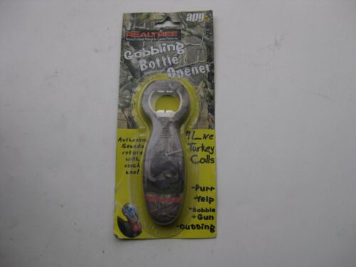 NEW Havercamp Realtree APG HD Camo Gobbling Bottle Opener 4 Live Turkey Calls