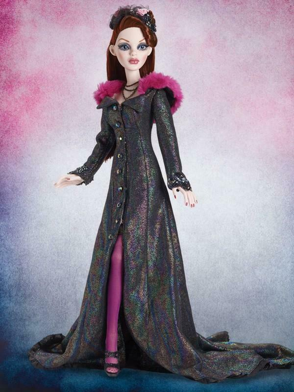 18.5  TonnerEvening Rainbow Parnilla Evangeline Ghastly OutfitLE 350No Doll