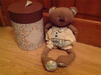 NEW Mamas & Papas KINGSLEY BEAR Brown Comforter/Comfort Soft Hug Toy