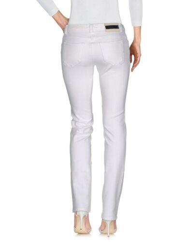 Jeans Jean en White Casual W27 l31 Slim Siviglia Pantalon Womens Fit txB8R4qwq
