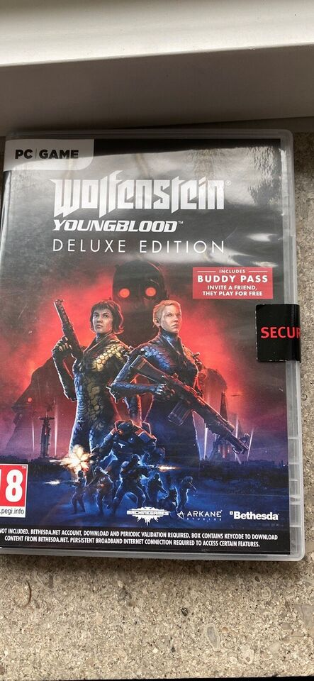 Wolfenstein youngblood deluxe edition, til pc, action