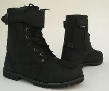 RKone Blend 10052 Motorcycle Motorbike Waterproof Boots Black