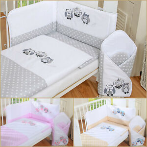 BABY BEDDING SET 2-8 pcs set for COT or COTBED Baby/'s Comfort
