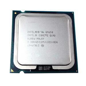 Intel Core 2 Quad Q9650 3GHz 12BM//1333Mhz LGA775 CPU Processor