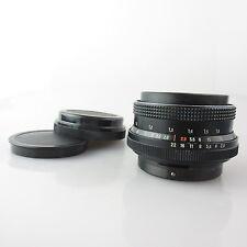 Für Pentacon Six Carl Zeiss Biometar red MC 2,8 80mm Objektiv / lens