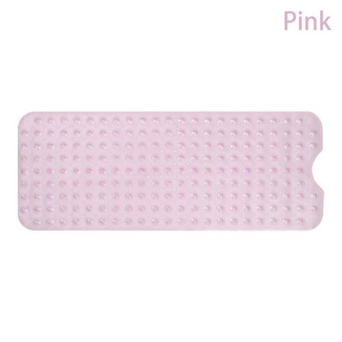 Non Slip Bath Tub Mat Anti Slip Extra Long Large Shower Square Mat Pad Non Skid