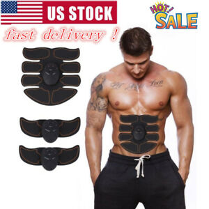 US-Fitness-Magic-EMS-Muscle-Training-Pad-Gear-ABS-Trainer-Fit-Body-Home-Exercise