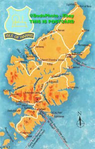 R431143 Isle Of Harris. Map of Isles of Harris and Lewis. KIOH 24. Jarrold and S