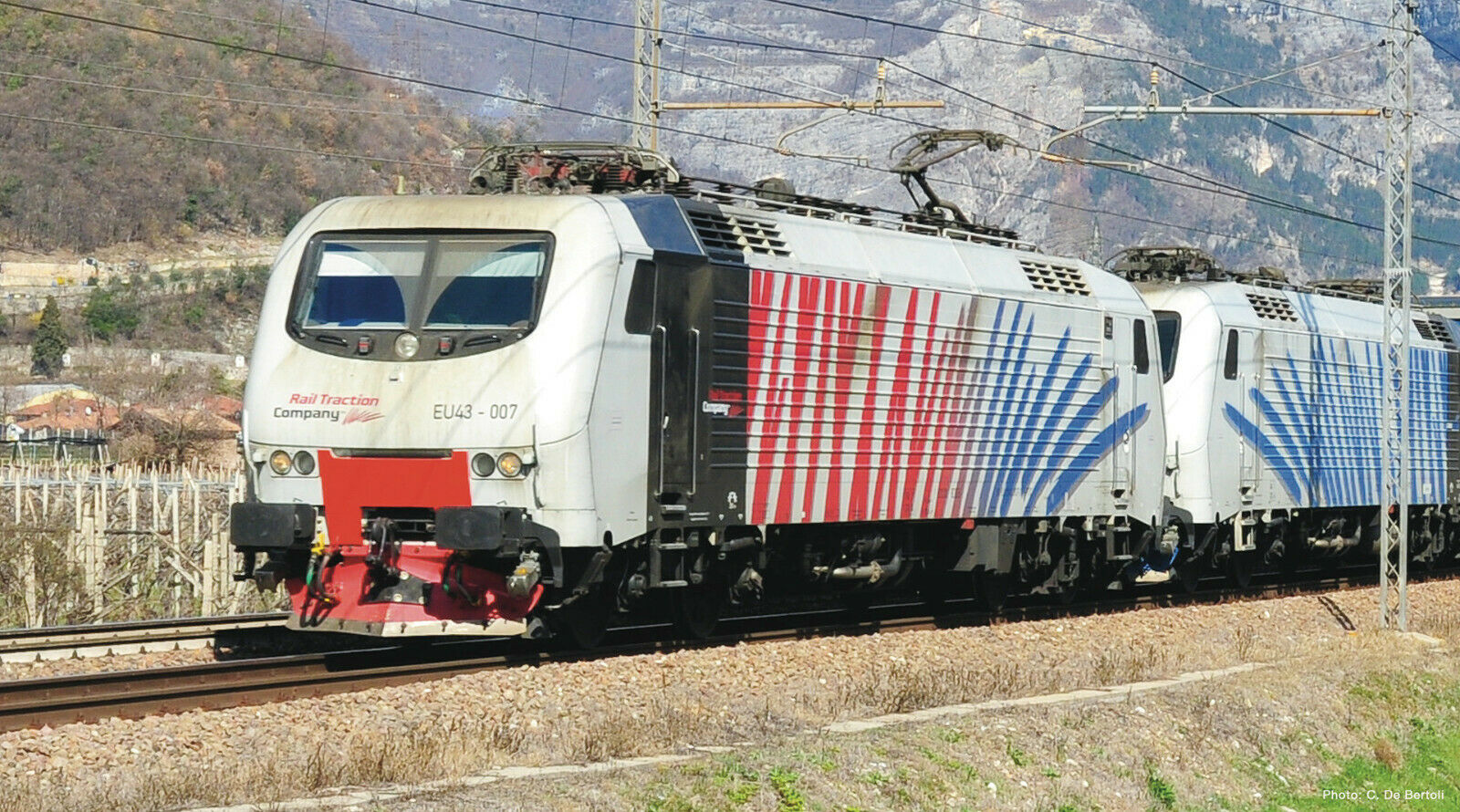 ROCO 73679-elektrolokomotive UE 43-007, Lokomotion, Zebra, DSS, novità 2019