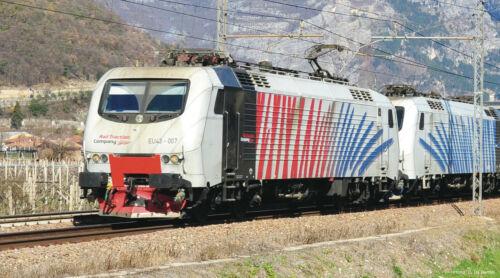 DSS NEUHEIT 2019 Lokomotion ZEBRA Elektrolokomotive EU 43-007 Roco 73679