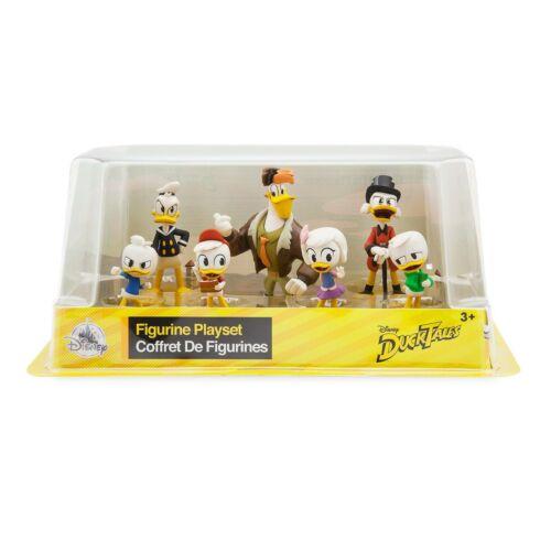 Disney Store DuckTales Figure Play Set of 7 or Cake Toppers NIB