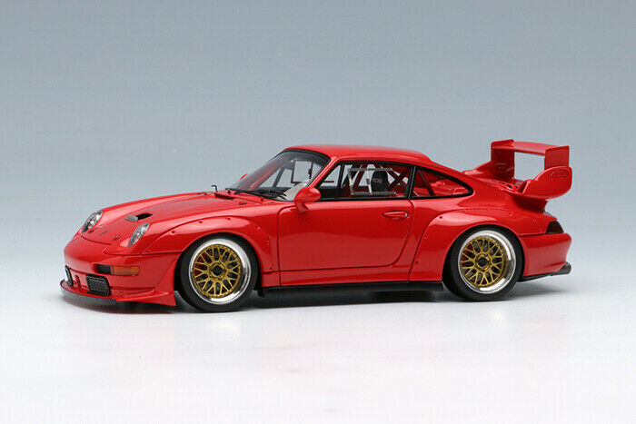 Maquillage Vision VM129C 1 43 Porsche 911 (993) GT2 RACING 1995 Gers Rouge
