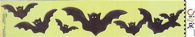 Sizzix Sizzlits Decorative Strip BATS HALLOWEEN Awesome