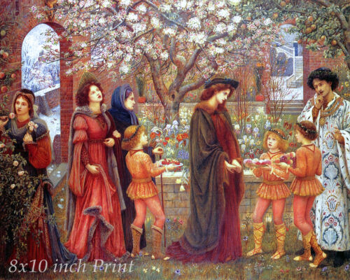 The Enchanted Garden by Marie S Stillman Fantasy 8x10 Print Picture 02010