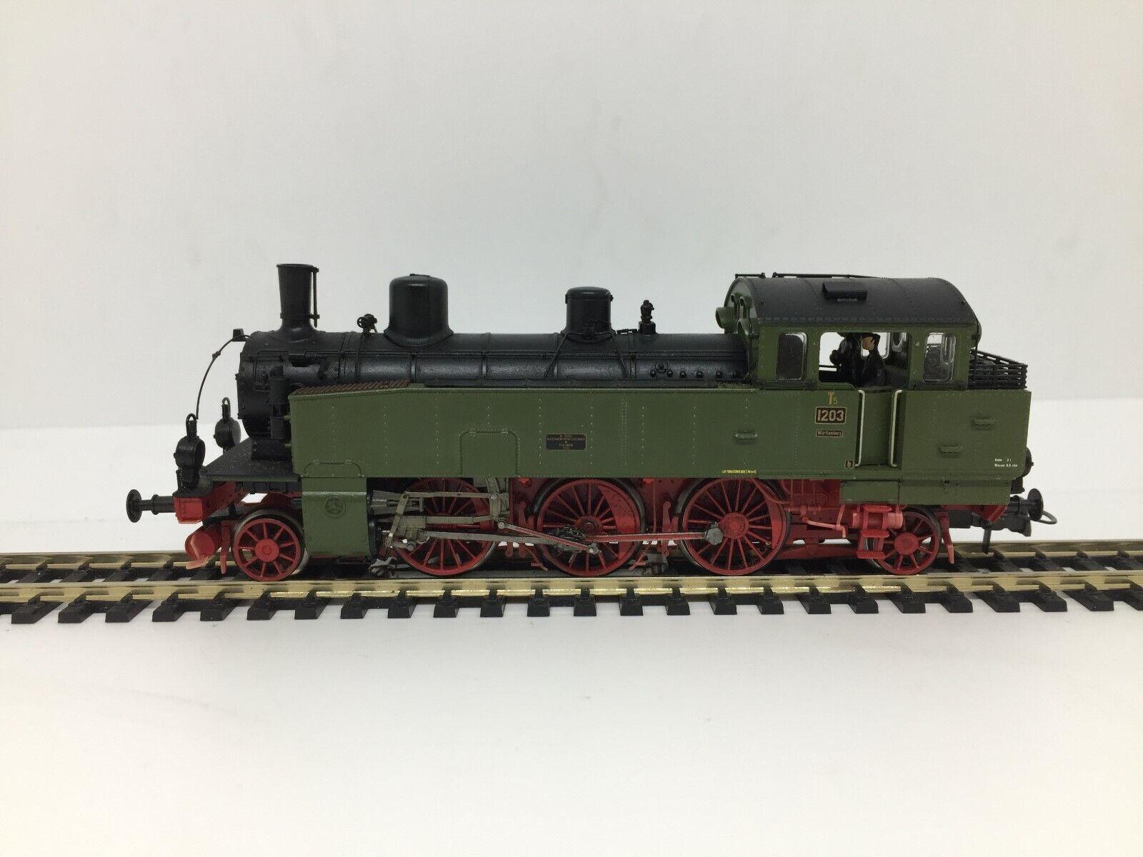 Locomotora braawa Ho vapeur t5 1203 en 3 Rails R - f.40003 digitale Sonore