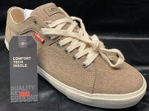 Levi's Schuhe Sneaker Freizeitschuhe Woodward braun Canvas 231571 Gr. 42, 44