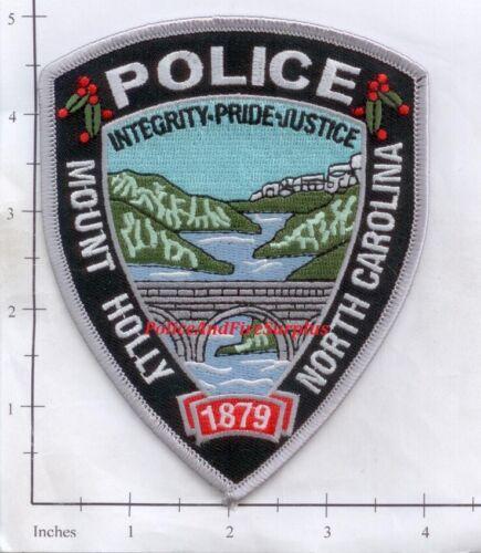 North Carolina Mount Holly NC Police Dept Patch