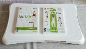 Wii Workout Bundle Nintendo Wii Fit Plus with Balance Board-Very Clean- 2 Games