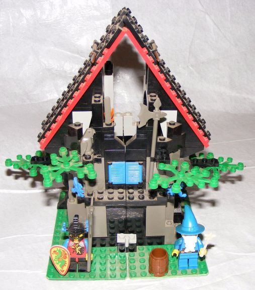 1993 LEGO Castle Dragon Knight Majisto's Magical Workhop 6048 COMPLETE w  Manual