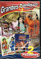 Grandes Comicos Vol 1, Brand Factory Sealed Spanish Dvd (2008, Tekila)